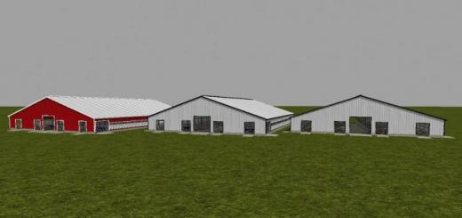 Photo of FS19 – 120X110 Free Stall Barn V1