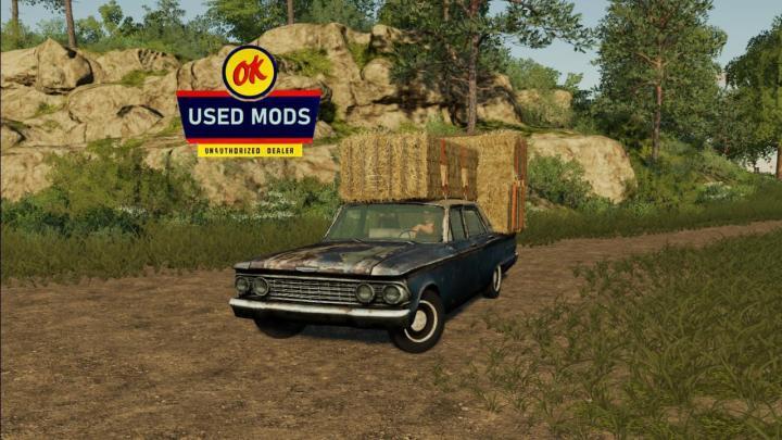 FS19 - 1962 Patina Princess - Drivable Rusty Car 2 V1