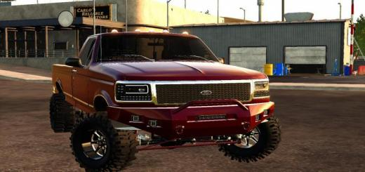 Photo of FS19 – 1994 Ford Obs F-350 Edit Fixed V2