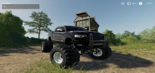 Photo of FS19 – 2019 Dodge Ram Bo\'S Edition V1