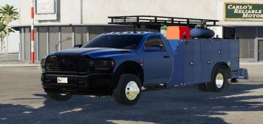 Photo of FS19 – 2020 Ram 5500 Service Truck V1