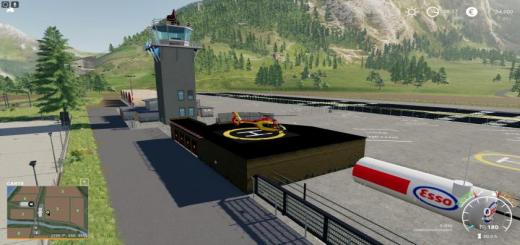 Photo of FS19 – Aeroport Placeable V2