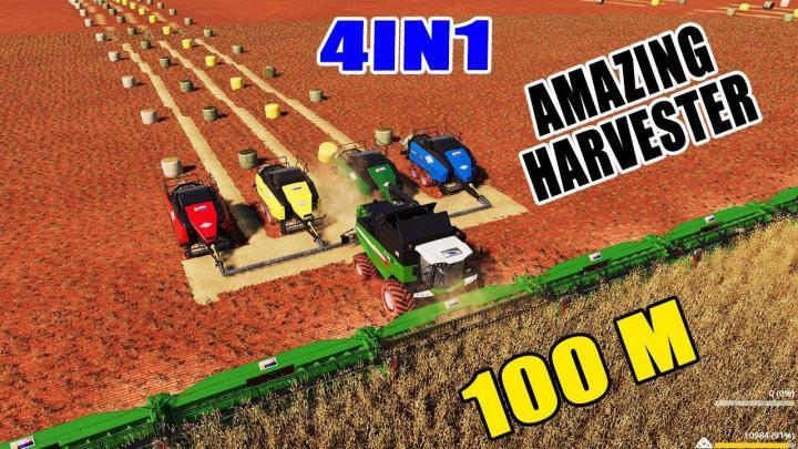 FS19 - Agco Crazy Harvester V1