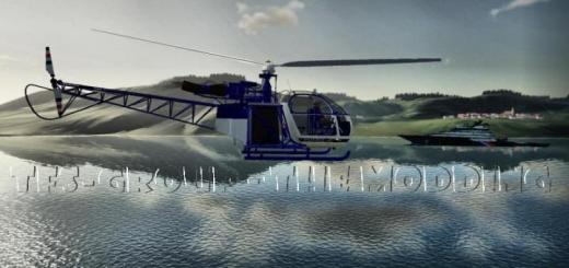 Photo of FS19 – Alouette Ii Police V2