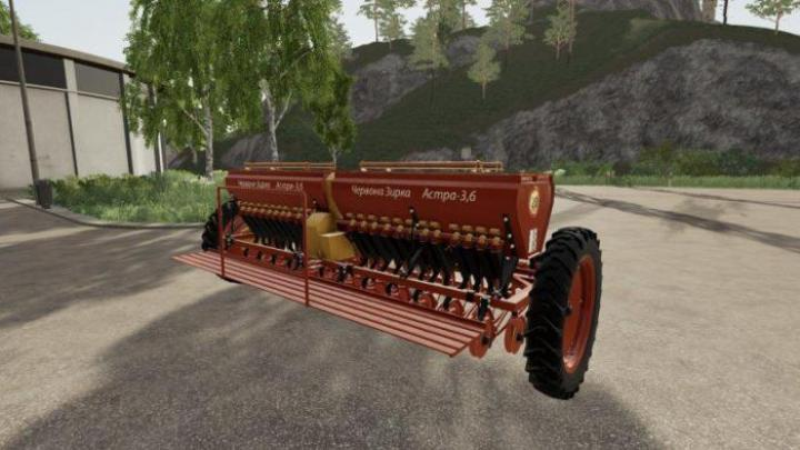 FS19 - Astra Nwt 3.6A + Coupling Version 1.1