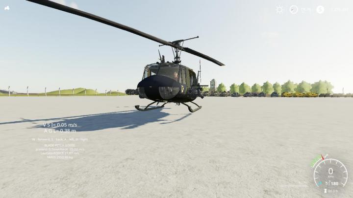 FS19 - Bell Huey V1