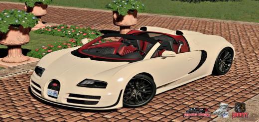Photo of FS19 – Bugatti Veyron Grand Sport Vitesse V1