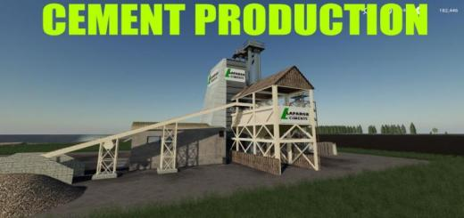 Photo of FS19 – Cement Factory V1