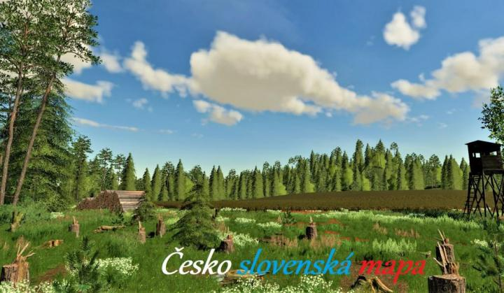 FS19 - Ceskoslovenska Mapa V1