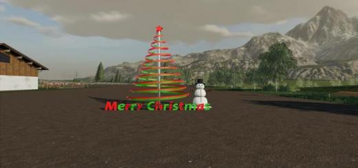 Photo of FS19 – Christmas Pack V1