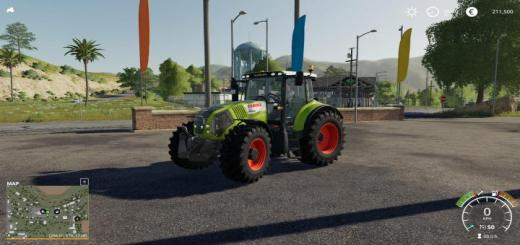 Photo of FS19 – Claas Axion 800 Serie V2