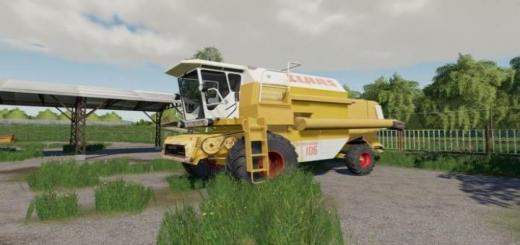 Photo of FS19 – Claas Dominator 106 Yellow V1