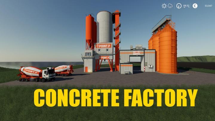 FS19 - Concrete Factory V1