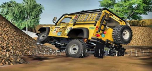 Photo of FS19 – Defender Dakar Edition V2