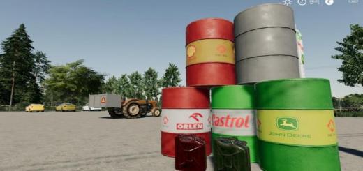 Photo of FS19 – Diesel Barrel Mod Pl V1.0.0.0