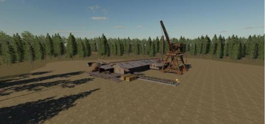 Photo of FS19 – Dusty Forest Map V1