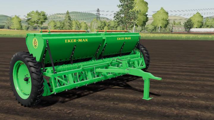 FS19 - Ekermak Seeder V1