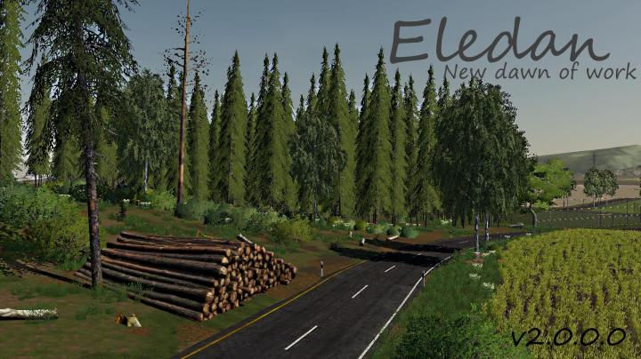 FS19 - Eledan New Dawn Of Work V2