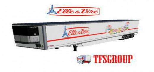 Photo of FS19 –  Elle Et Vire Refrigerated Trailer V2