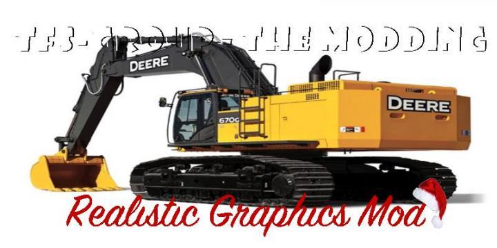 FS19 - Excavatrice Deere 670G Realistic V2