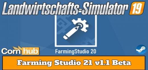 Photo of FS19 – Farmingstudio21 V1.1 Beta
