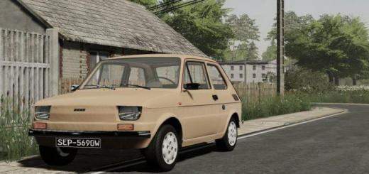 Photo of FS19 – Fiat 126 V1