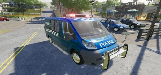 Photo of FS19 – Fiat Ducato Police V1