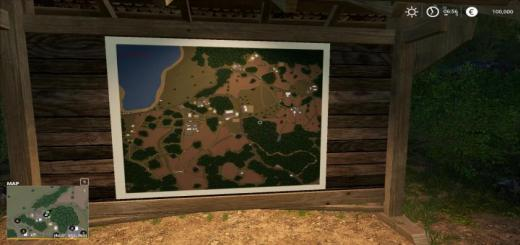Photo of FS19 – Fieldmountain2 V1.1.7.1
