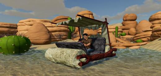 Photo of FS19 – Flintstone Car V1