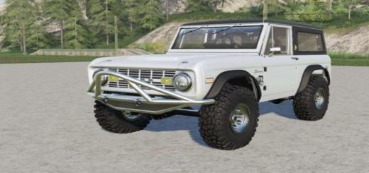 Photo of FS19 – Ford Bronco Sport Wagon 1971 V2