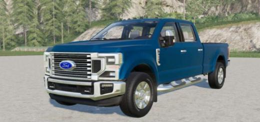 Photo of FS19 – Ford F-250 Super Duty Lariat Crew Cab 2020
