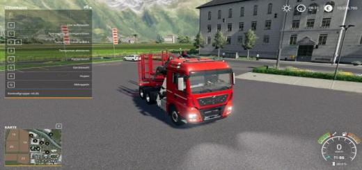 Photo of FS19 – Forest Tgx Man V1