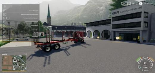 Photo of FS19 – Forestry Semi Trailers V1