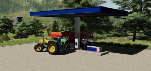 Photo of FS19 – Gas Station V1