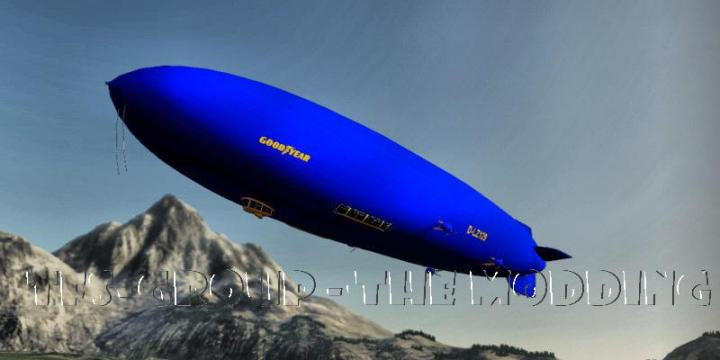 FS19 - Goodyear Dirigeable V2