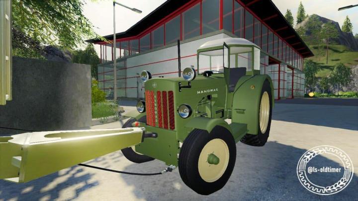FS19 - Hanomag R4X Made V1