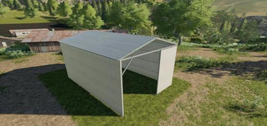 Photo of FS19 – Hay Shed For The Farm V1