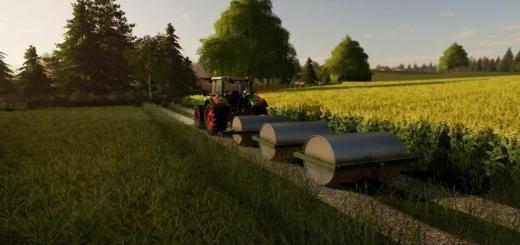 Photo of FS19 – Heavy Meadow Rollers V1.0.1.0