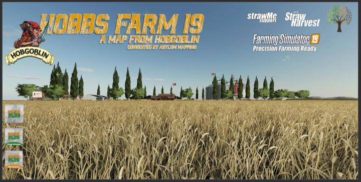 FS19 - Hobbs Farm 19 Map V1