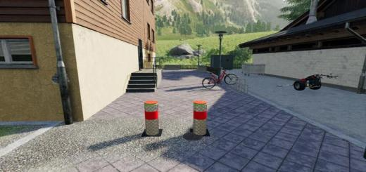 Photo of FS19 – Hydraulic Bollards V1