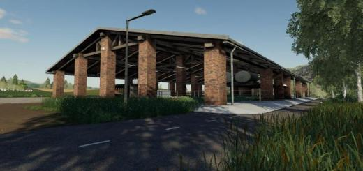 Photo of FS19 – Italian Old Style Cow Shed V1