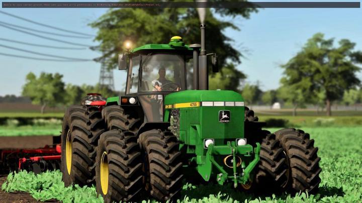 FS19 - John Deere 4755 Tractor V1