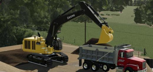 Photo of FS19 – John Deere 670G Lc V1