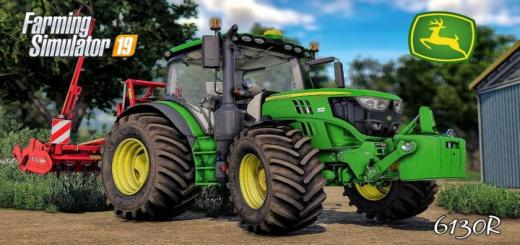 Photo of FS19 – John Deere 6R Series (4Cyl) V1