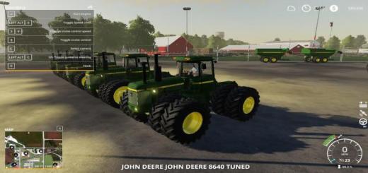 Photo of FS19 – John Deere 8000 4Wd V1