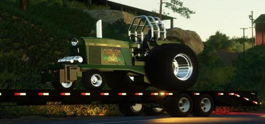 Photo of FS19 – John Deere Pulling Tractor V1