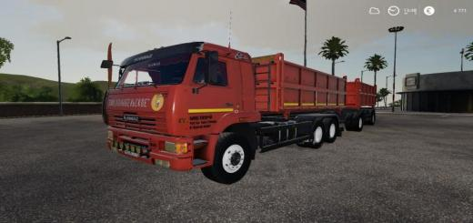 Photo of FS19 – Kamaz 65115 V1