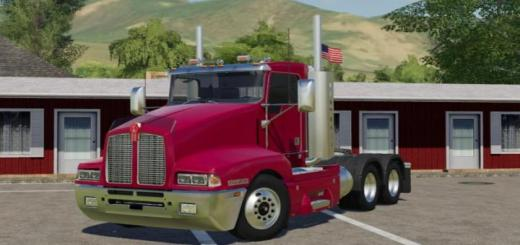 Photo of FS19 – Kenworth T600 Daycab Americanized V1