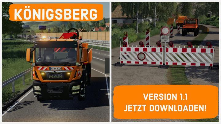 FS19 - Konigsberg Map V1.1