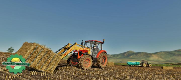 FS19 - Kubota M5111 Tractor V1